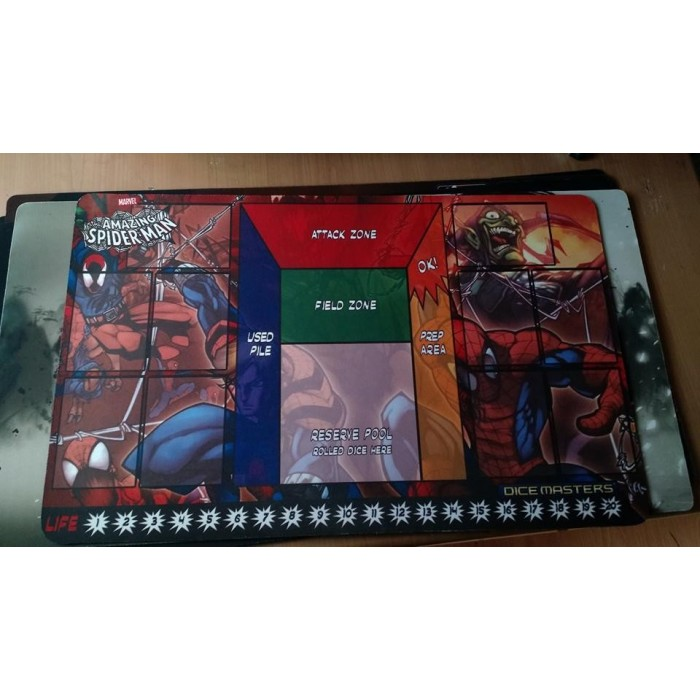 Playmat de Dice Masters Spiderman Katiart 1