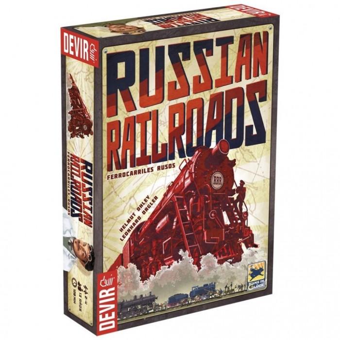 Russian Railroads - Ferrrocarriles Rusos