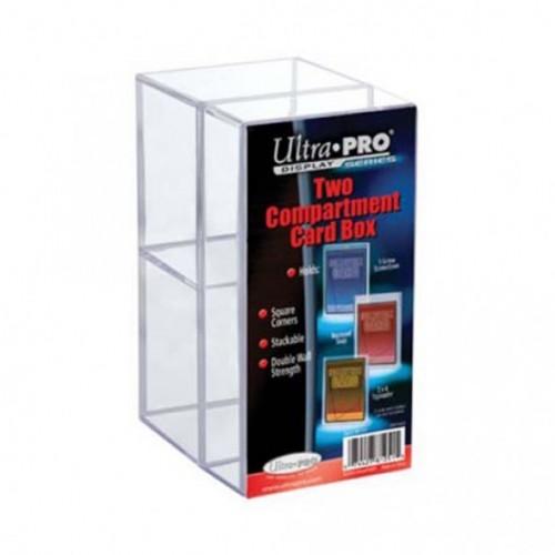 Card Box de 2 Compartimientos Ultra Pro