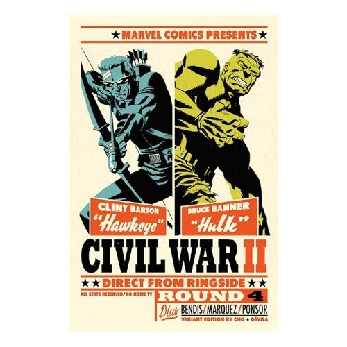 CIVIL WAR II 04 (PORTADA ALTERNATIVA)