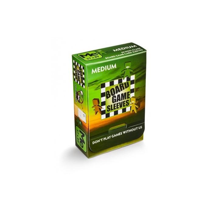 Board Game Sleeves Medium 57x89 Non Glare 50