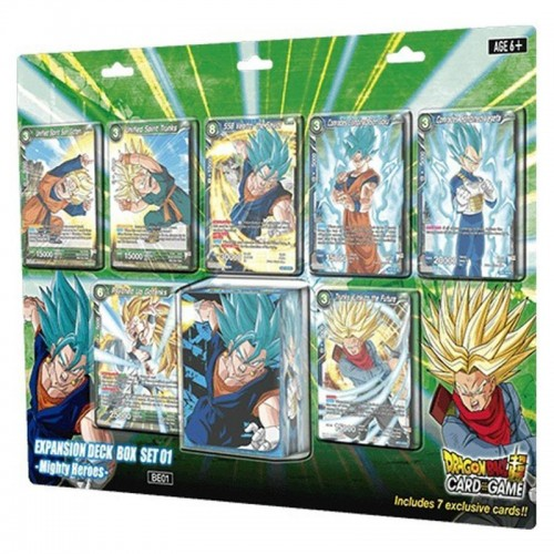 Dragon Ball Super Card Game Expansion Deck Box Set 01 - Mighty Heroes
